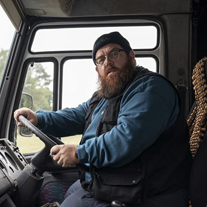 Nick Frost in Truth Seekers (2020)