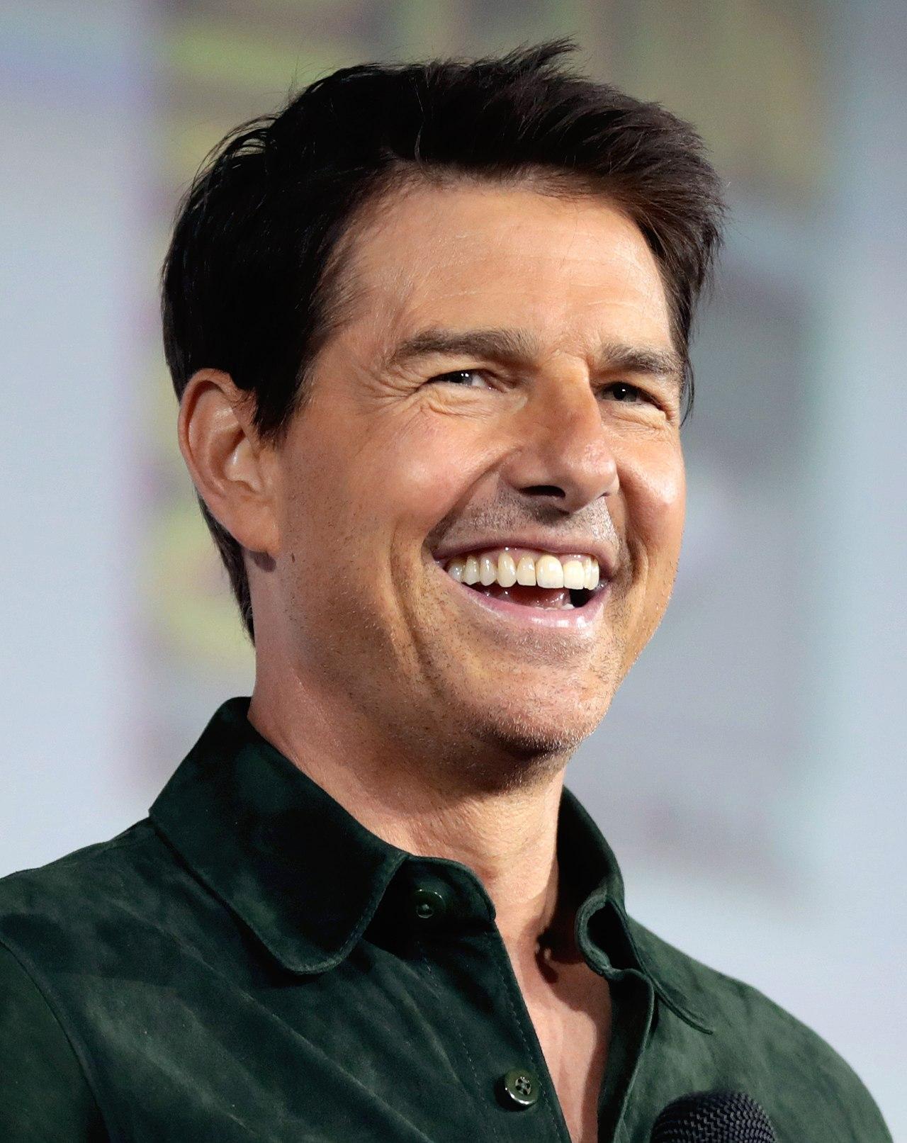 Tom Cruise at an event for Top Gun: Maverick (2021)