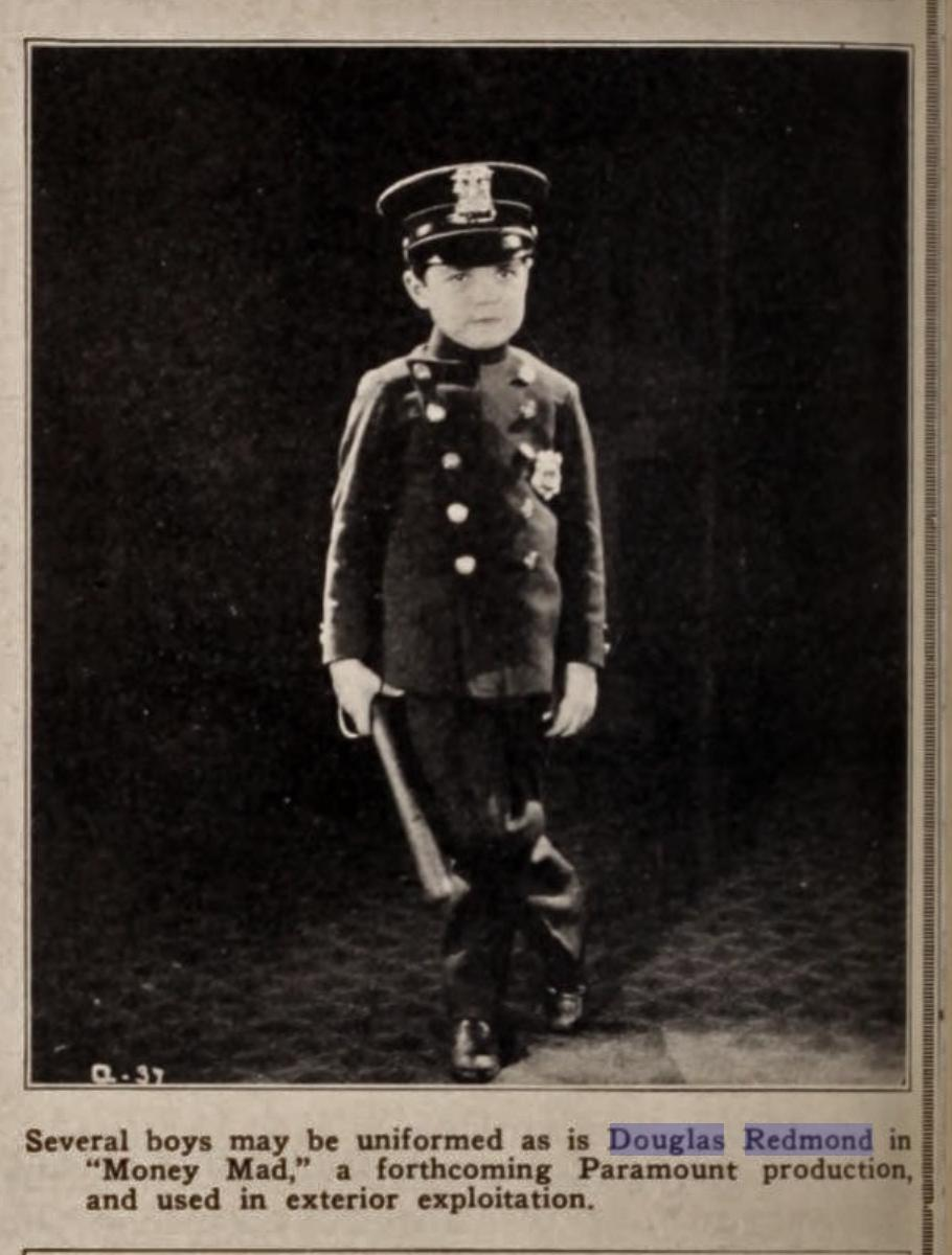 Douglas Redmond in Paying the Piper (1921)