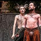 John Light and Matthew Tennyson in Shakespeare's Globe: A Midsummer Night's Dream (2014)