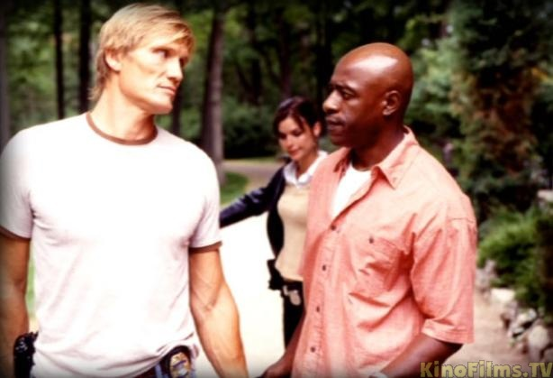Dolph Lundgren, Rothaford Gray, and Polly Shannon in Direct Action (2004)