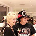 Dee Wallace and Jen McCleary Allen at an event for Red Christmas (2016)