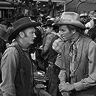 James Stewart, Tex Cooper, Steve Darrell, Millard Mitchell, and Lew Morphy in Winchester '73 (1950)