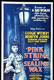 Pink String and Sealing Wax Poster
