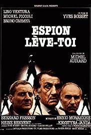 Espion, lève-toi Poster