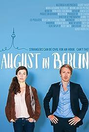 August in Berlin Poster