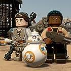 John Boyega and Daisy Ridley in Lego Star Wars: The Force Awakens (2016)