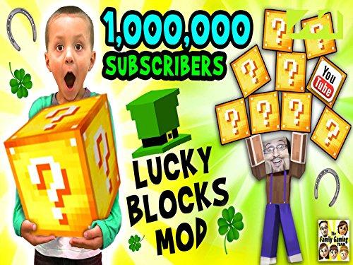 Minecraft lucky block mod fun! (2015)