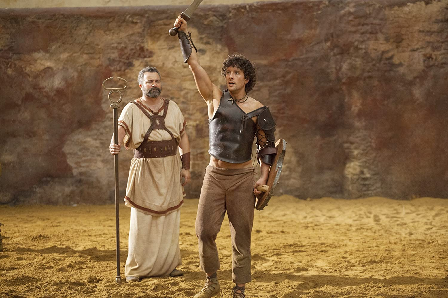Gary Oliver and Jack Donnelly in Atlantis (2013)