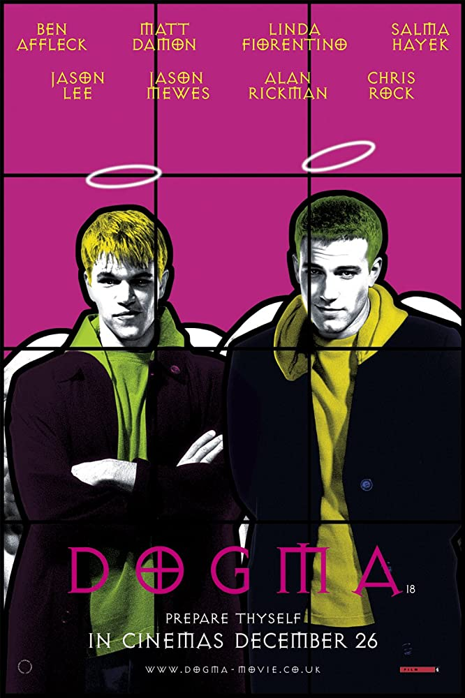 Ben Affleck and Matt Damon in Dogma (1999)