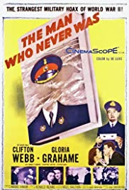 The Man Who Never Was (1956) Poster - Movie Forum, Cast, Reviews