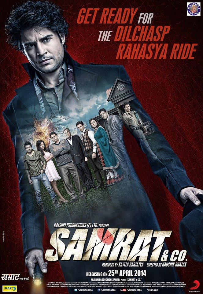 Samrat and Co 2014 Hindi 720p HEVC HDRip x265 AAC ESubs Full Bollywood Movie [650MB]