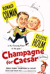 Champagne for Caesar (1950) Poster - Movie Forum, Cast, Reviews