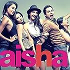 Abhay Deol, Sonam Kapoor, Ira Dubey, Amrita Puri, and Lisa Haydon in Aisha (2010)
