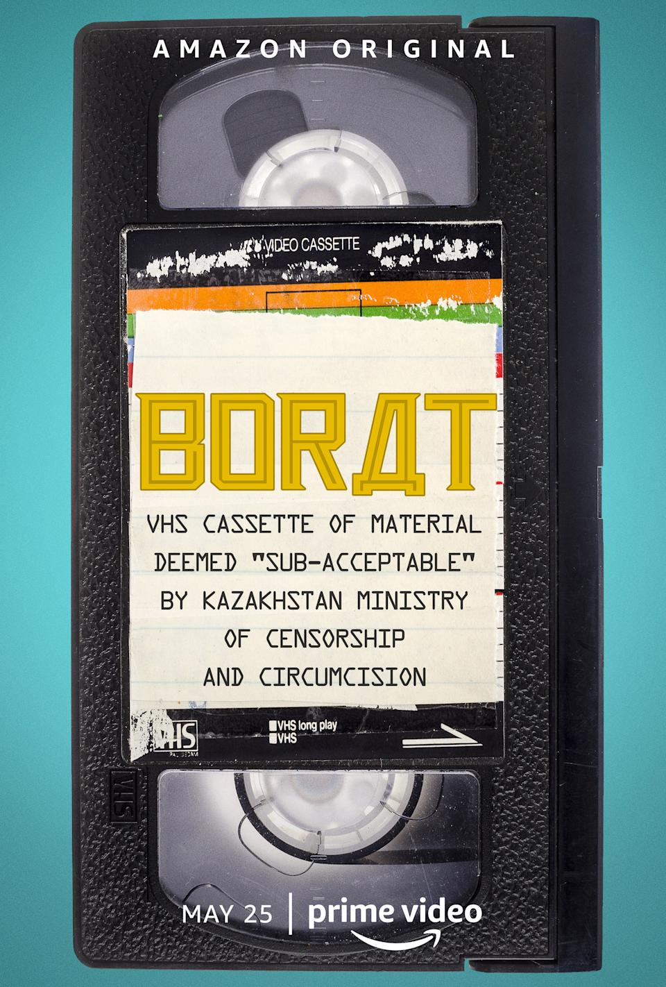 watch Borat: VHS Cassette of Material Deemed 'Sub-acceptable' by Kazakhstan Ministry of Censorship and Circumcision on soap2day