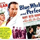 George Reeves, Mary Beth Hughes, and Lloyd Nolan in Blue, White and Perfect (1942)
