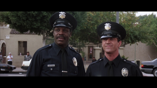 Mel Gibson and Danny Glover in Lethal Weapon 3 (1992)