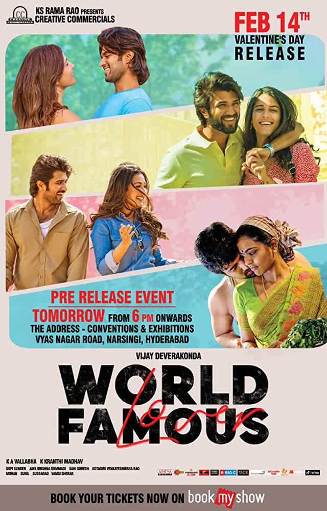 Free Download World Famous Lover (2020) South Movie Dual Audio [Hindi or Telugu] 720p HDRip 1.2GB Download On Mp4moviez Fliz Movies