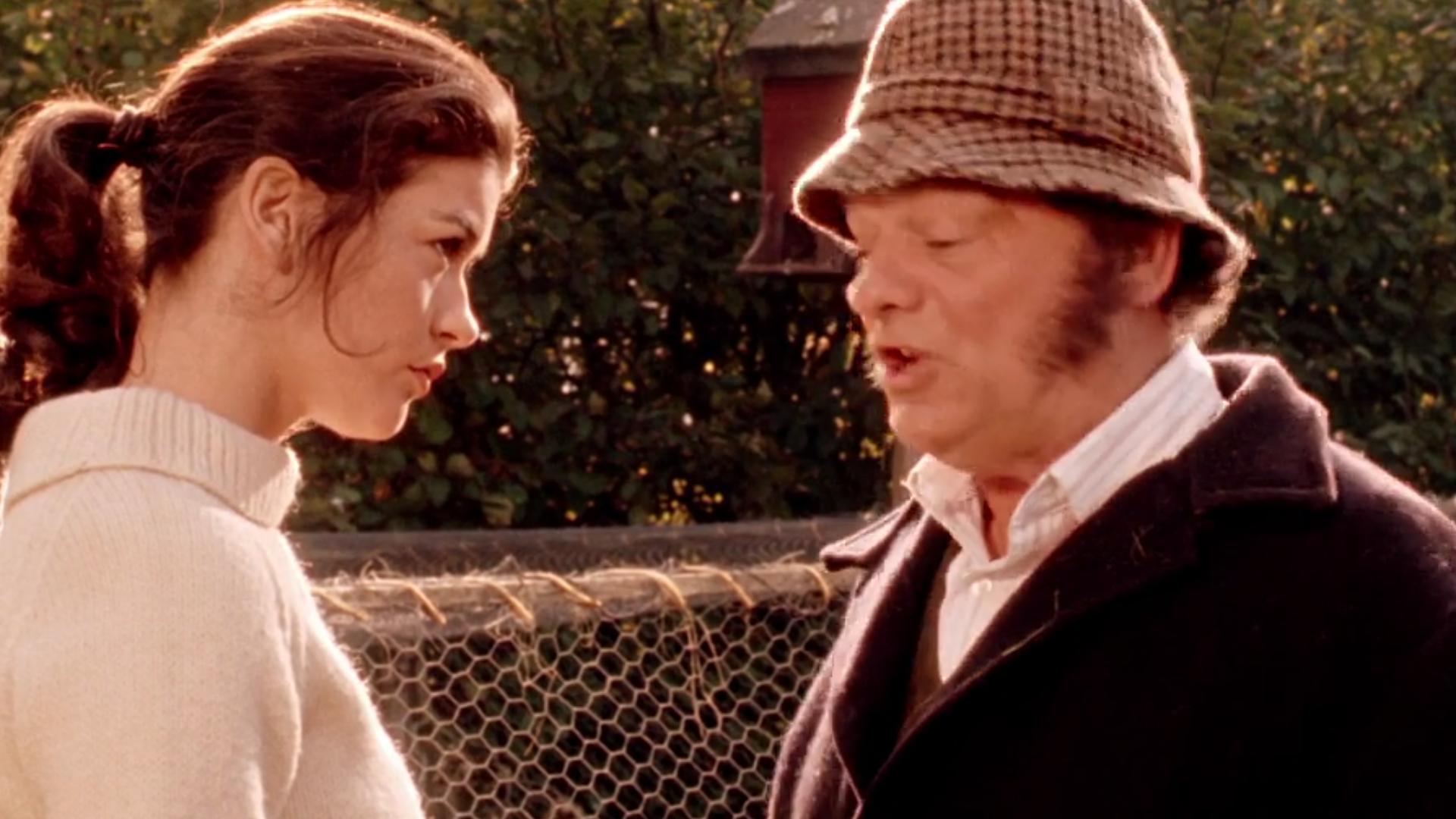 Catherine Zeta-Jones and David Jason in The Darling Buds of May (1991)