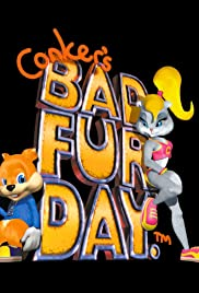 Conker's Bad Fur Day Poster