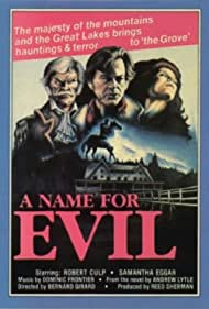 A Name for Evil (1973) Poster - Movie Forum, Cast, Reviews