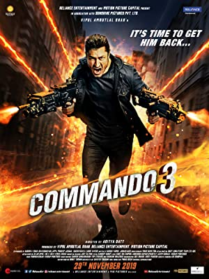 Download Commando 3 (2019) Hindi Movie 720p | 480p WebRip 1GB | 300MB