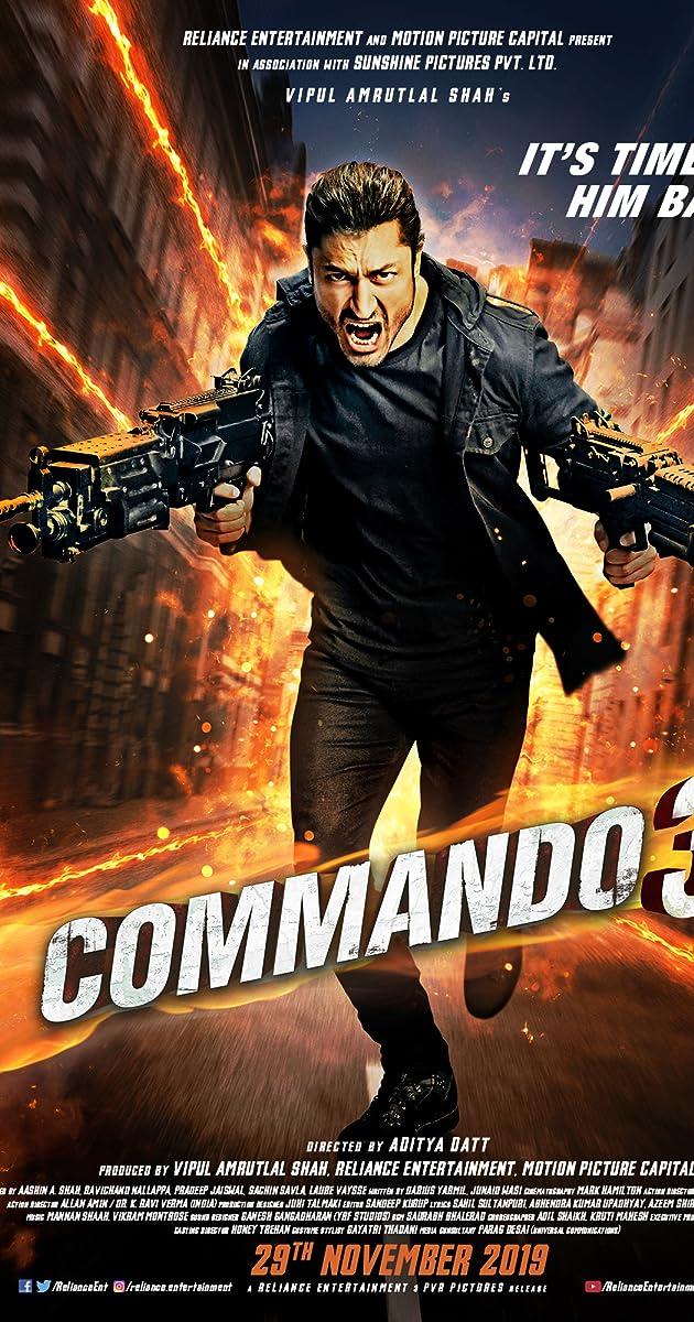 Free Download Commando 3 Full Movie