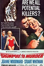 Signpost to Murder (1964) Poster - Movie Forum, Cast, Reviews