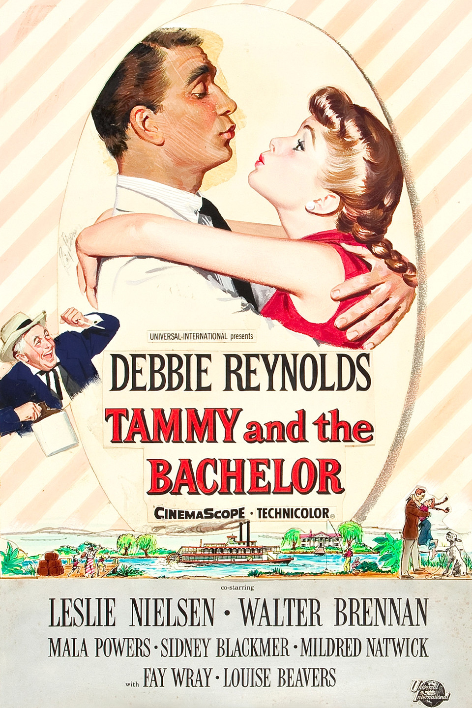 USA NEW Tammy and the Bachelor Movie POSTER 27 x 40 Debbie Reynolds A LICENSED