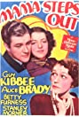 Mama Steps Out (1937) Poster