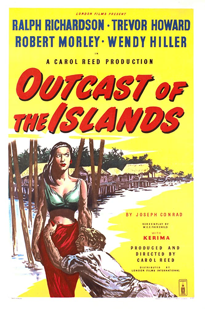 Kerima in Outcast of the Islands (1951)