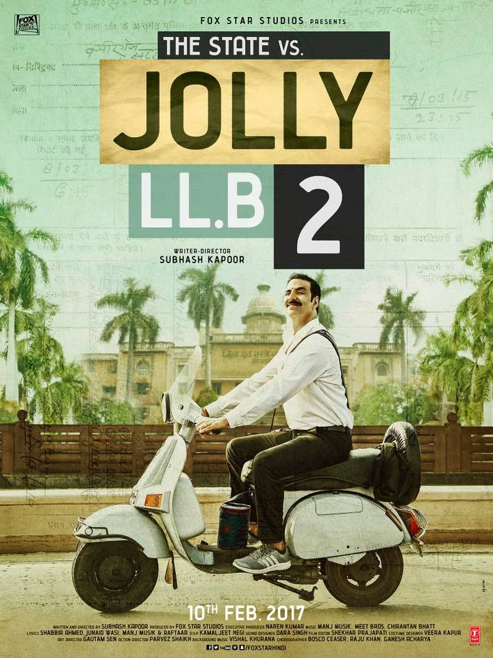 Jolly LLB 2 (2017) Hindi Movie 720p BluRay 950MB ESubs Download