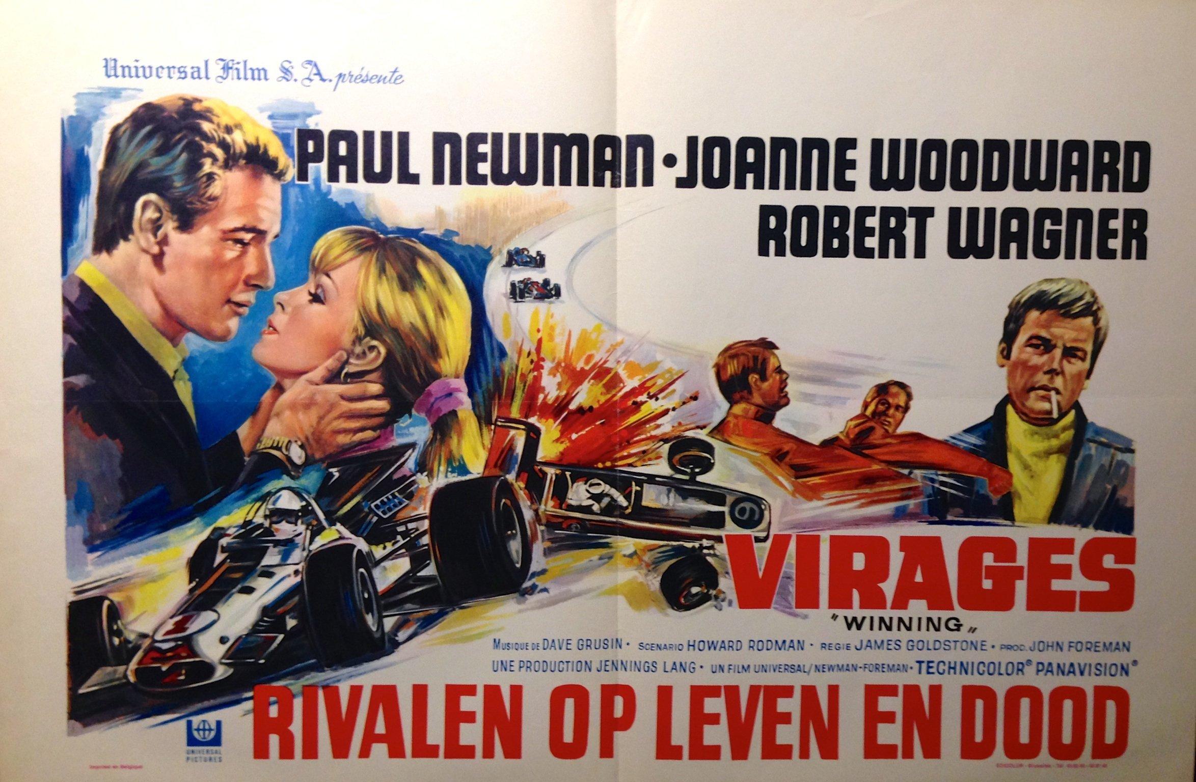 Winning (1969) - Action, Drama, Sport