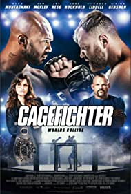 Gina Gershon, Chuck Liddell, Jonathan Good, and Alex Montagnani in Cagefighter (2020)
