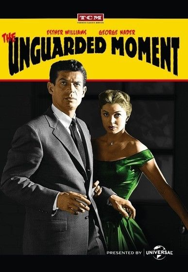 George Nader and Esther Williams in The Unguarded Moment (1956)