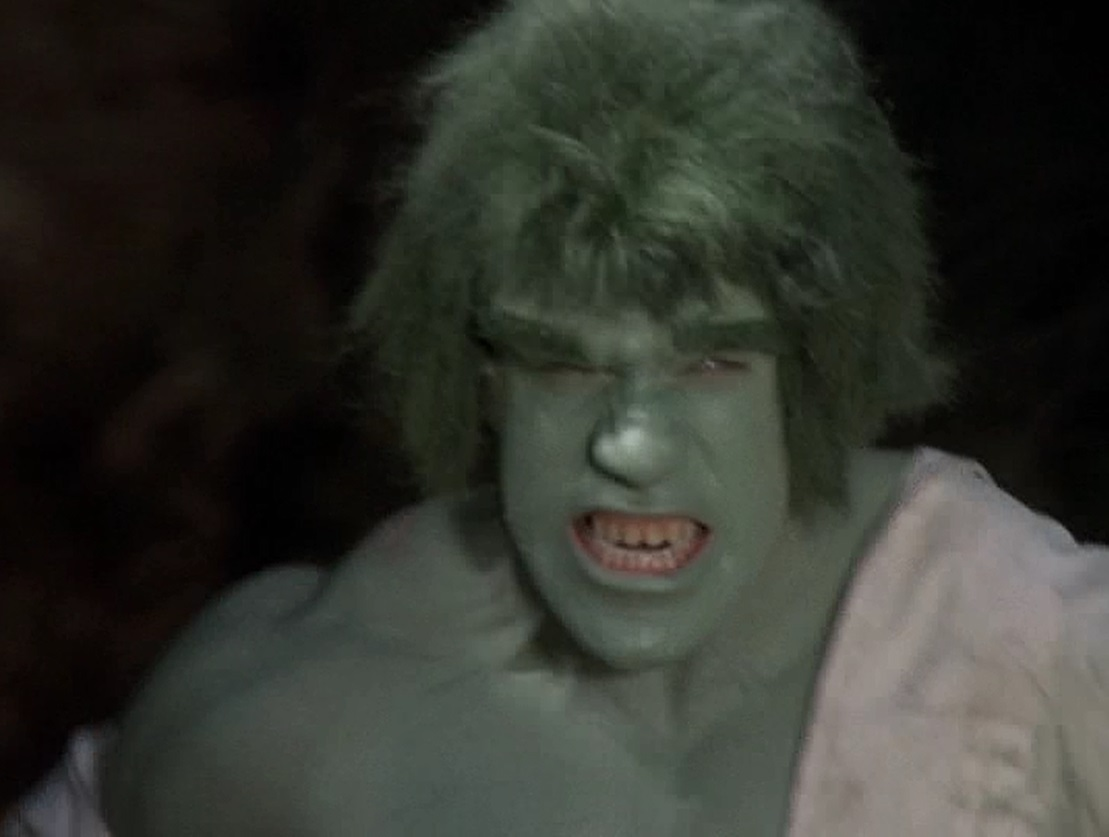 Lou Ferrigno in The Incredible Hulk (1977)