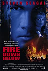 Steven Seagal and Marg Helgenberger in Fire Down Below (1997)