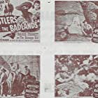 Carla Balenda, Tex Harding, Charles Starrett, and Dub Taylor in Rustlers of the Badlands (1945)