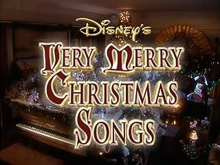 Disney Sing Along Songs Very Merry Christmas Songs 1988 Vhs.Disney Sing Along Songs Very Merry Christmas Songs 1988