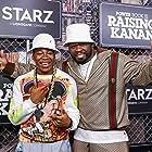 50 Cent and Mekai Curtis at an event for Power Book III: Raising Kanan (2021)