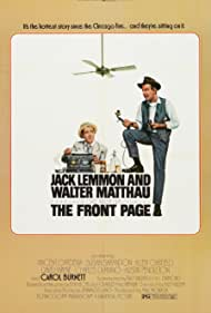 Jack Lemmon and Walter Matthau in The Front Page (1974)