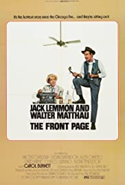 The Front Page(1974) Poster - Movie Forum, Cast, Reviews