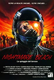 Nightmare Beach Poster