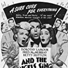 Betty Hutton, Dorothy Lamour, and Fred MacMurray in And the Angels Sing (1944)