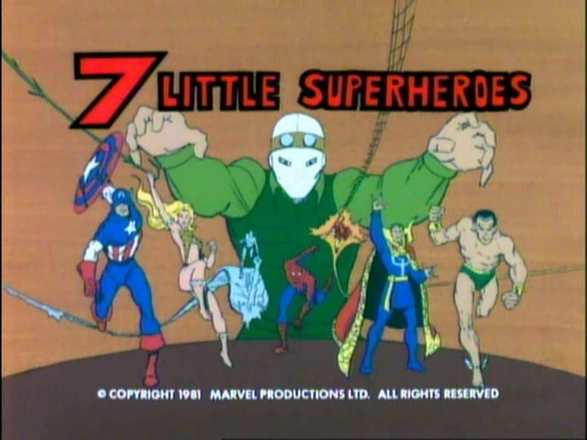 7 Little Superheroes