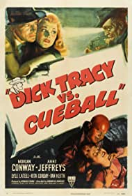 Morgan Conway, Rita Corday, Anne Jeffreys, Ian Keith, and Dick Wessel in Dick Tracy vs. Cueball (1946)