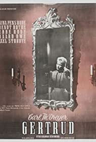 Gertrud (1966) Poster - Movie Forum, Cast, Reviews
