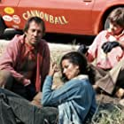 David Carradine, Archie Hahn, and Veronica Hamel in Cannonball (1976)