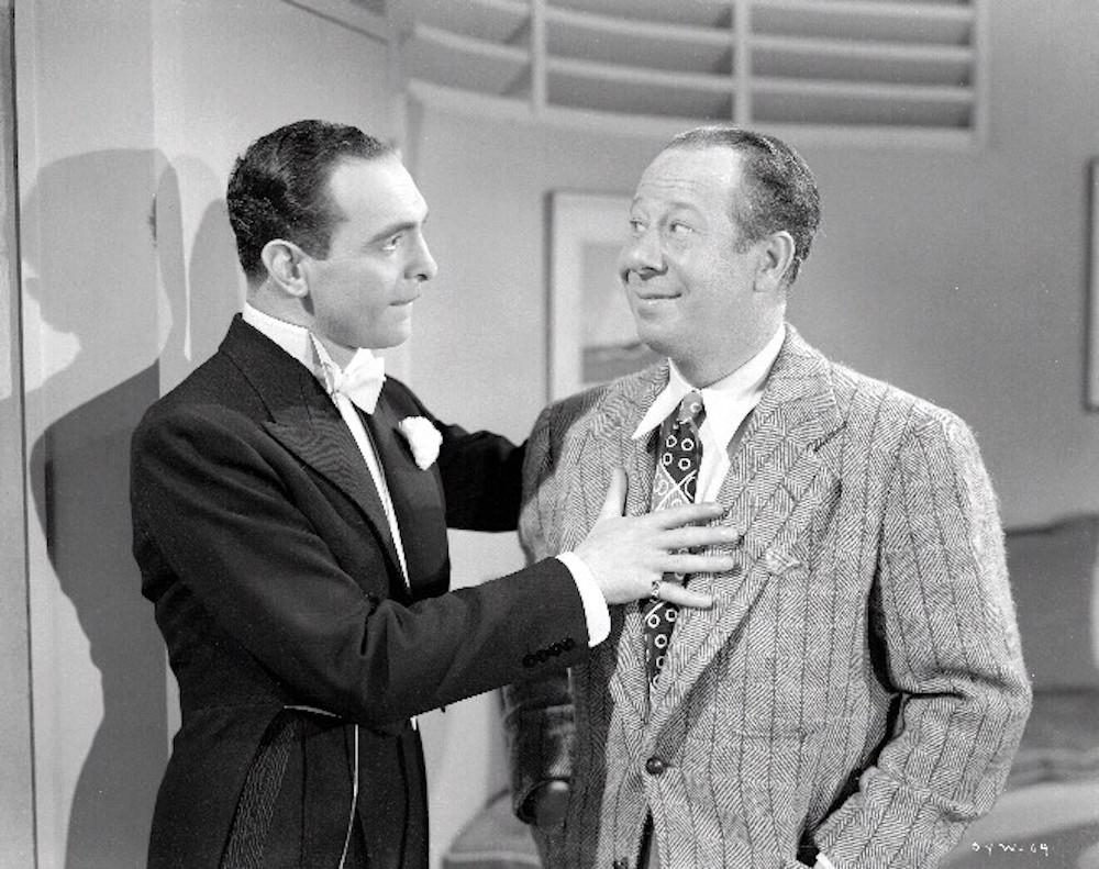Bert Lahr and Sam Levene in Sing Your Worries Away (1942)