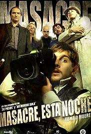 Masacre esta noche Poster